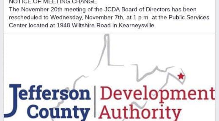 JCDA Meeting