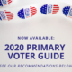 Now Available: 2020 Primary Voter Guide